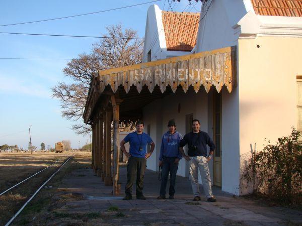 Compañeros de viajes, Nicolas Pinto y Diego Vicco